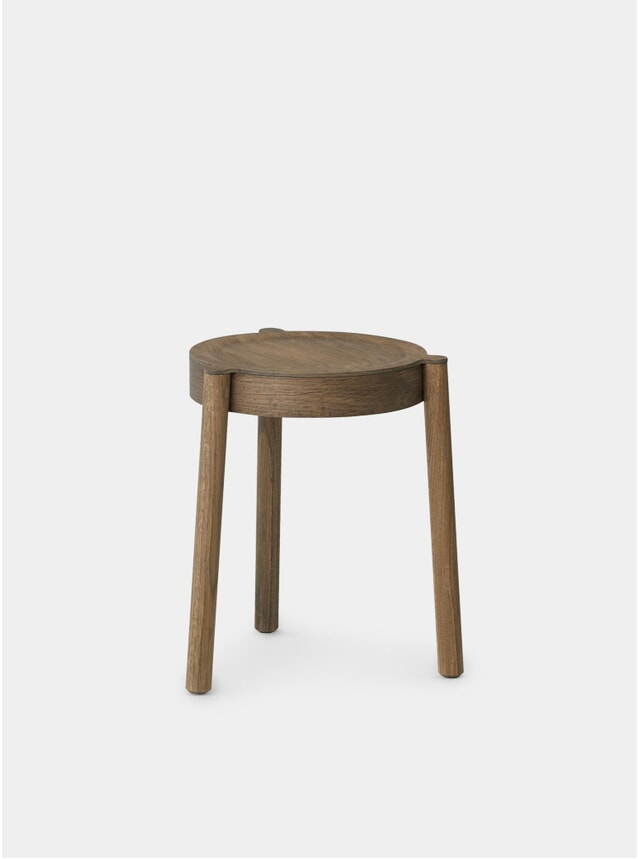 Smoked Oak / Wood Pal Stool