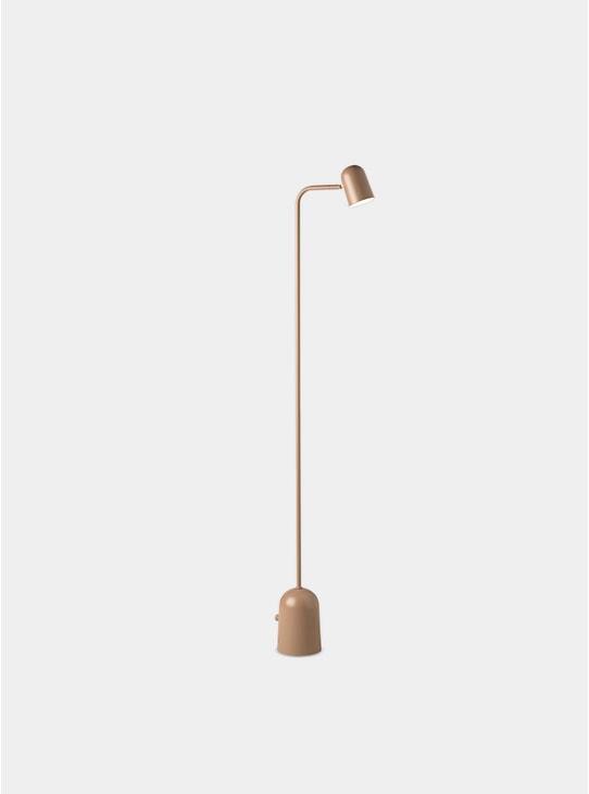 Warm Beige Buddy Floor Lamp