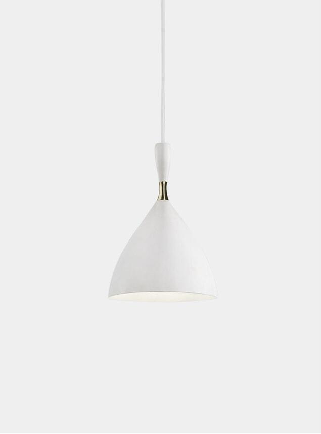White Dokka Pendant Lamp