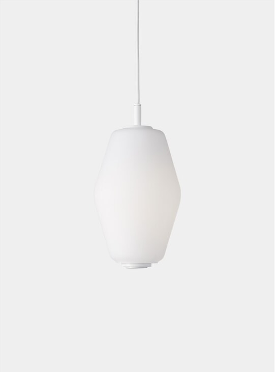 White Nest Pendant Light