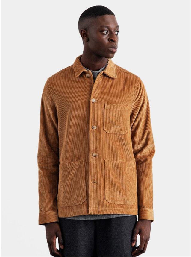 Almond Corduroy Original Overshirt