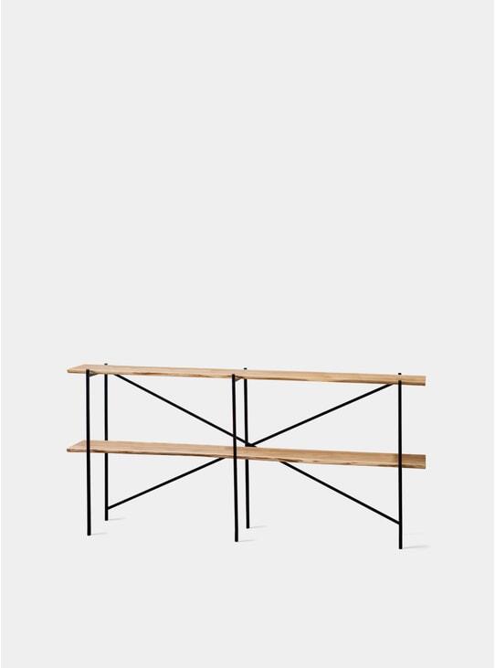 Industrial Oak Shelf