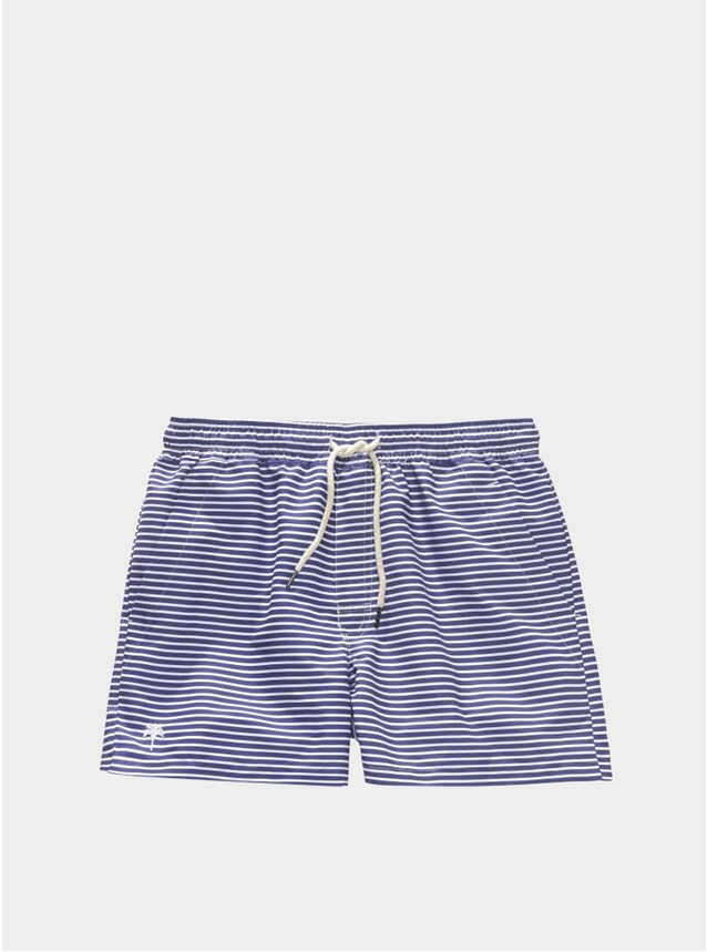 Busy Blue Swim Shorts