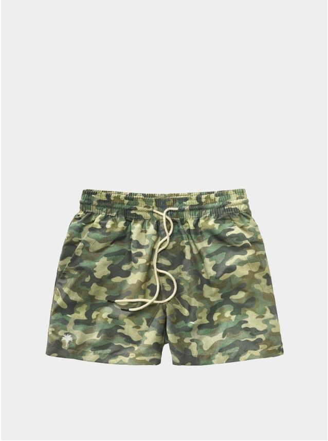Camo Swim Shorts