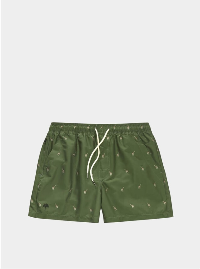 Giraffe Swim Shorts