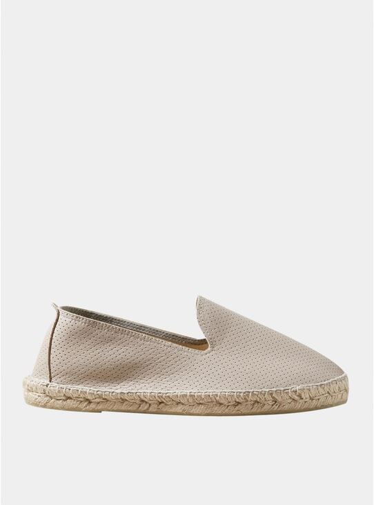 Perforated Espadrilles
