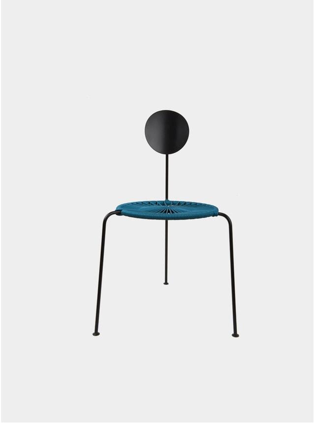Petroleum Blue Centro Chair