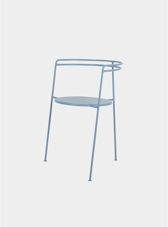 Pigeon Blue Point Chair