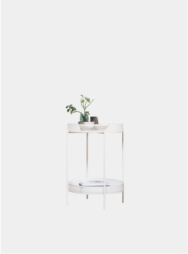 White AMI Side Table