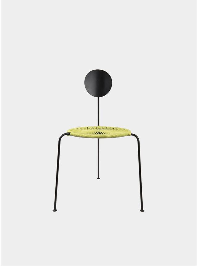 Yellow Centro Chair