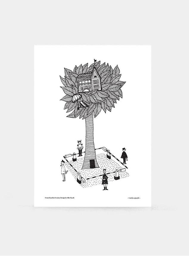 House Nest Print