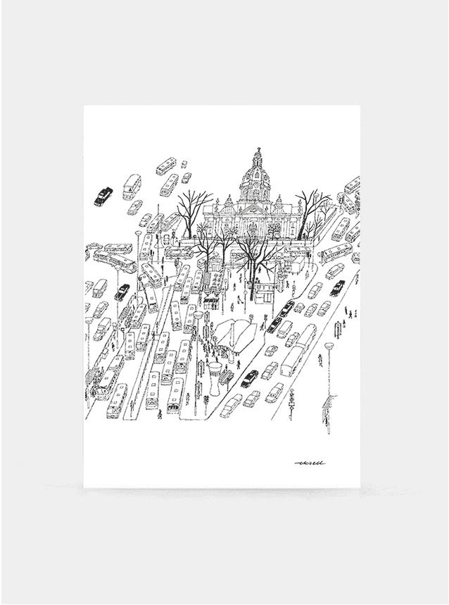 Odenplan Print