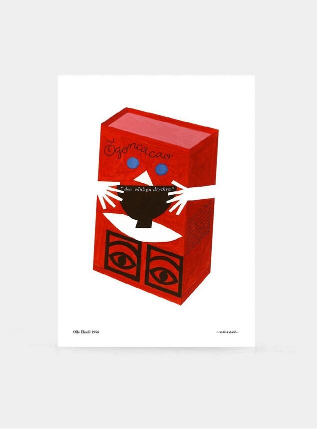 Red Box 1956 Print