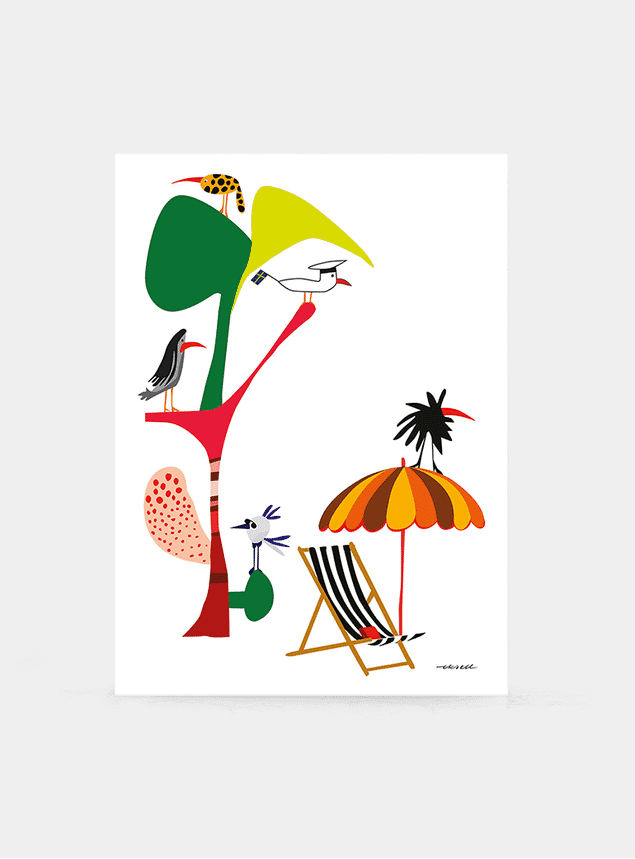 Swedish Summer Print