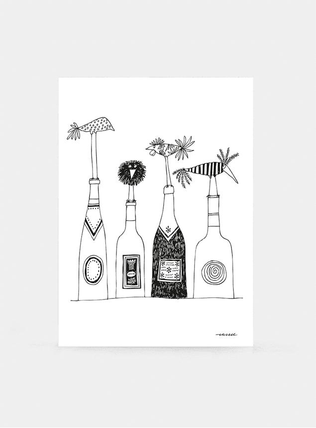 Wine Print