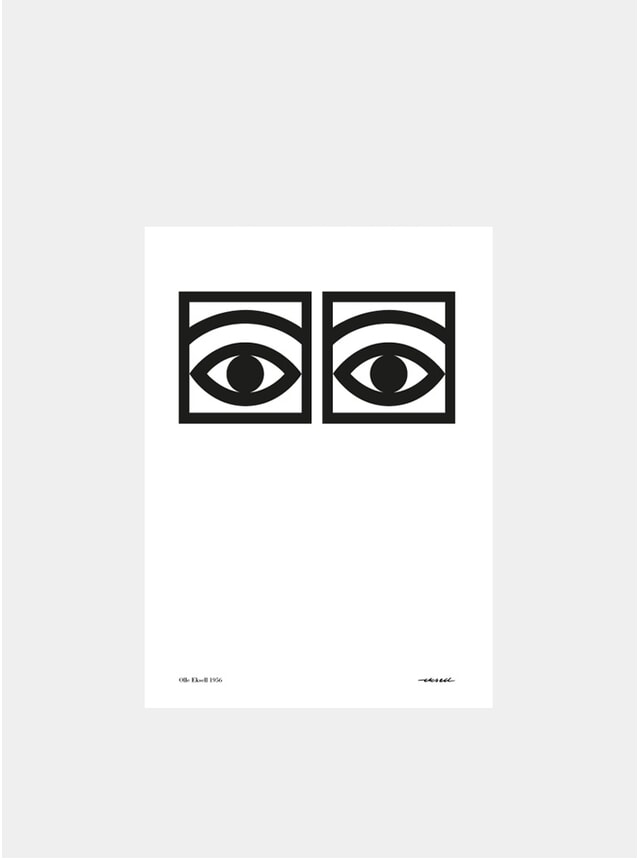 Black & White Ogon Cacao 1956 One Eye A4