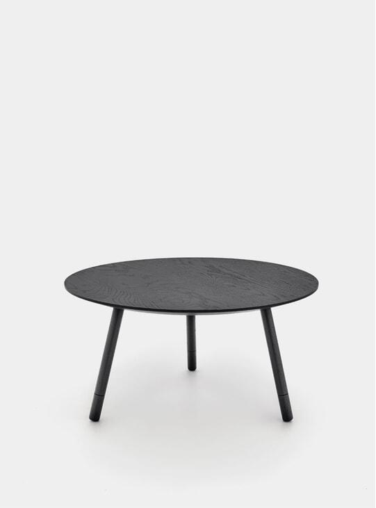 Black Oak Bison Coffee Table
