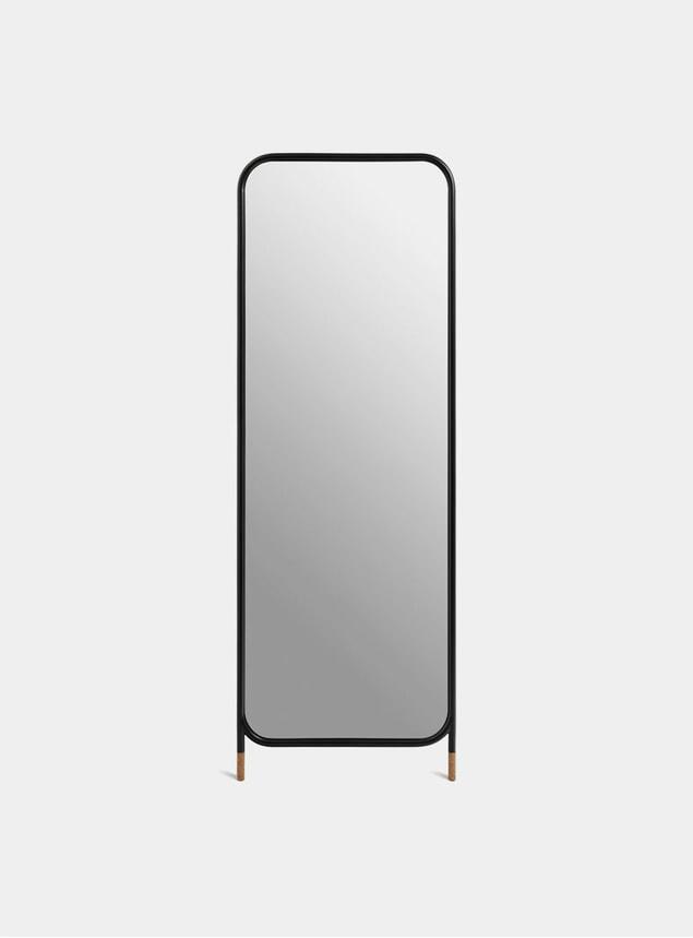 Black / Cork Vertical Mirror