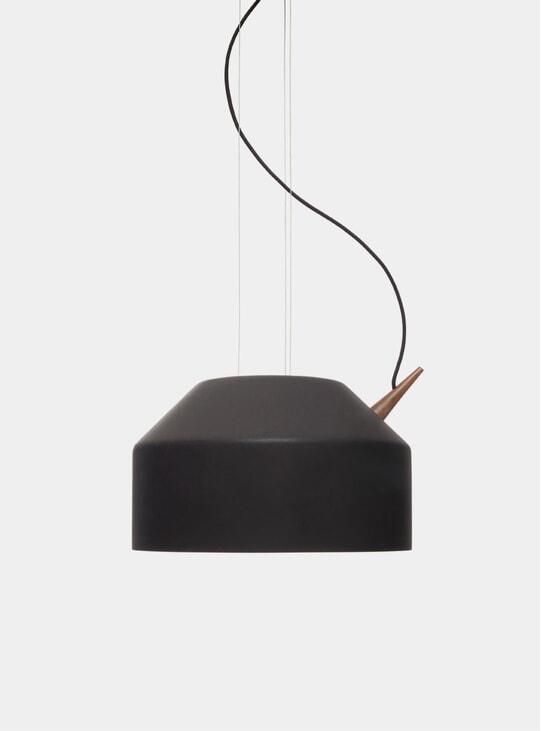 Black / Walnut Large Reeno Lamp