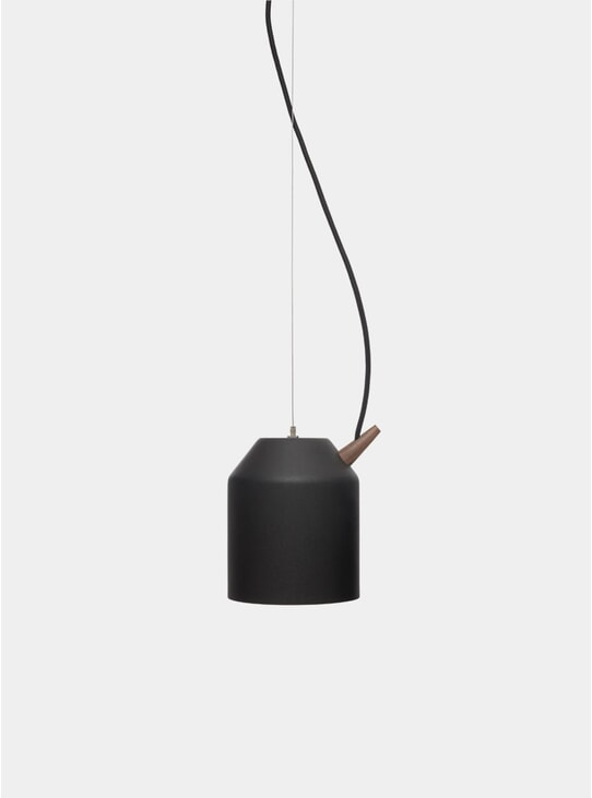 Black / Walnut Small Reeno Lamp