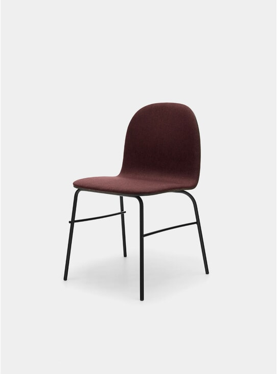 Garnet / Black Oak Metal Terra Chair