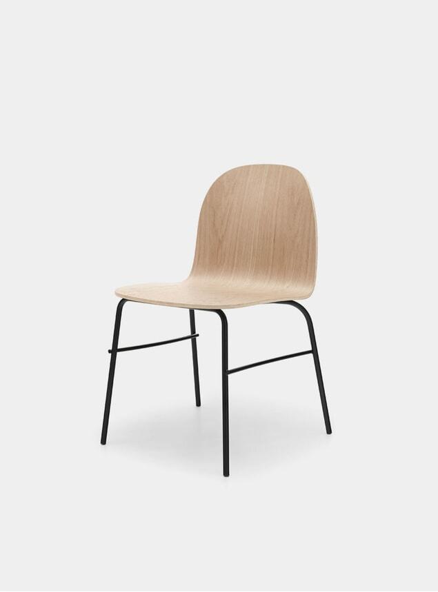Natural Oak / Metal Terra Chair