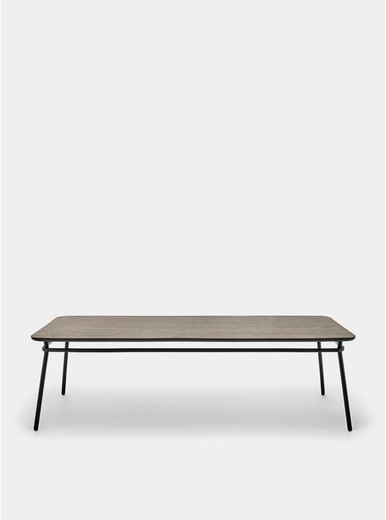 Smoked Oak 2500mm Messa Lasso Dining Table