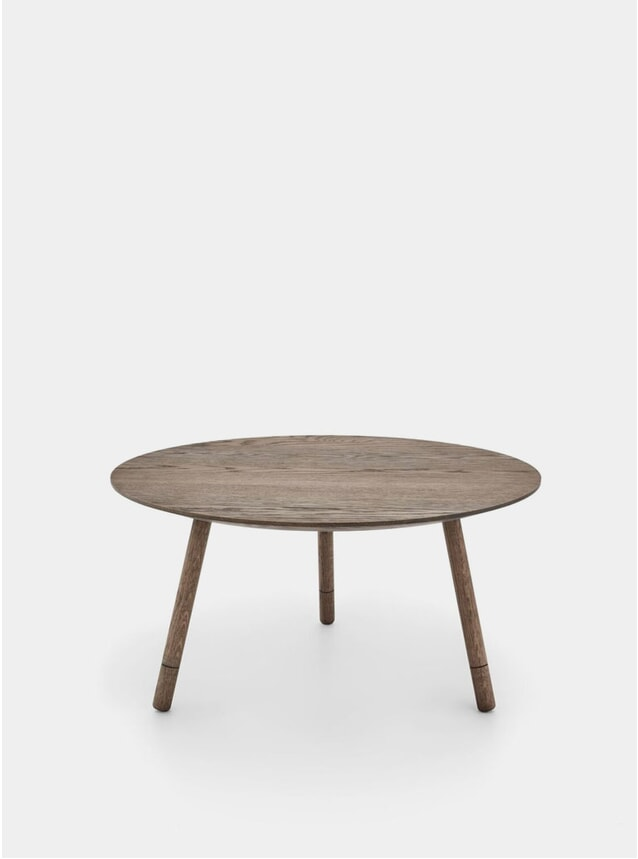 Smoked Oak Bison Coffee Table