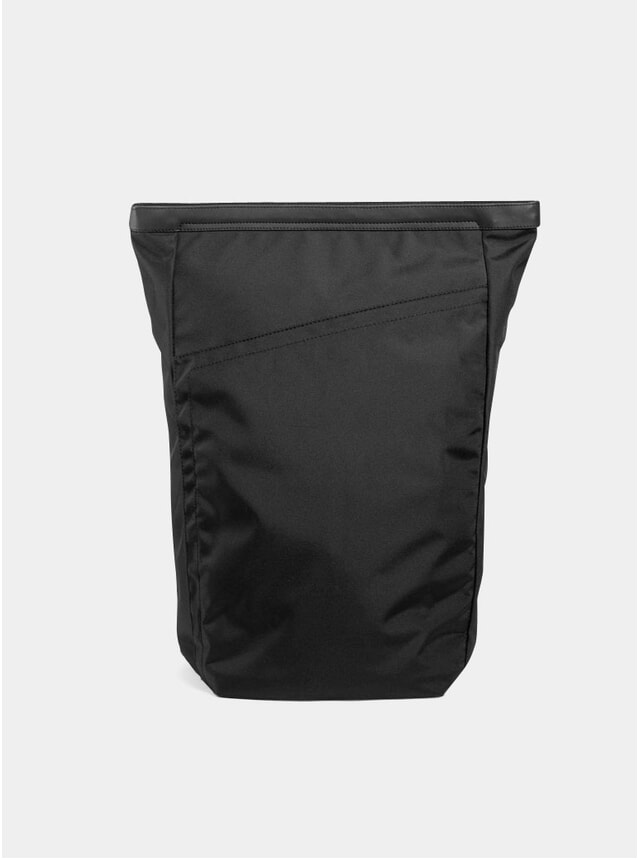 Black Invisible One Backpack