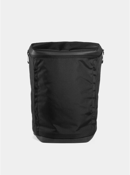 Black Invisible Two Backpack