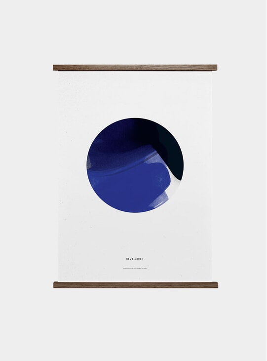 Blue Moon Print by All The Way to Paris