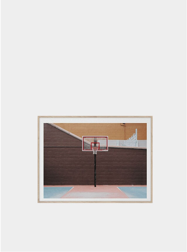 Cities of Basketball 07 Print by Kasper Nyman