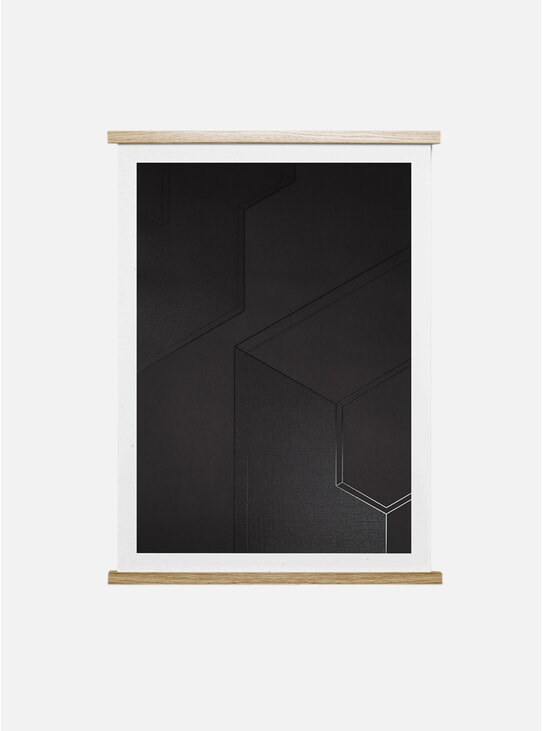 Dark Projections 02 Print by Norm Architects