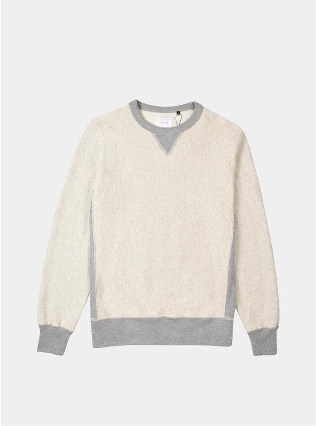 Ecru Tonal Sweatshirt