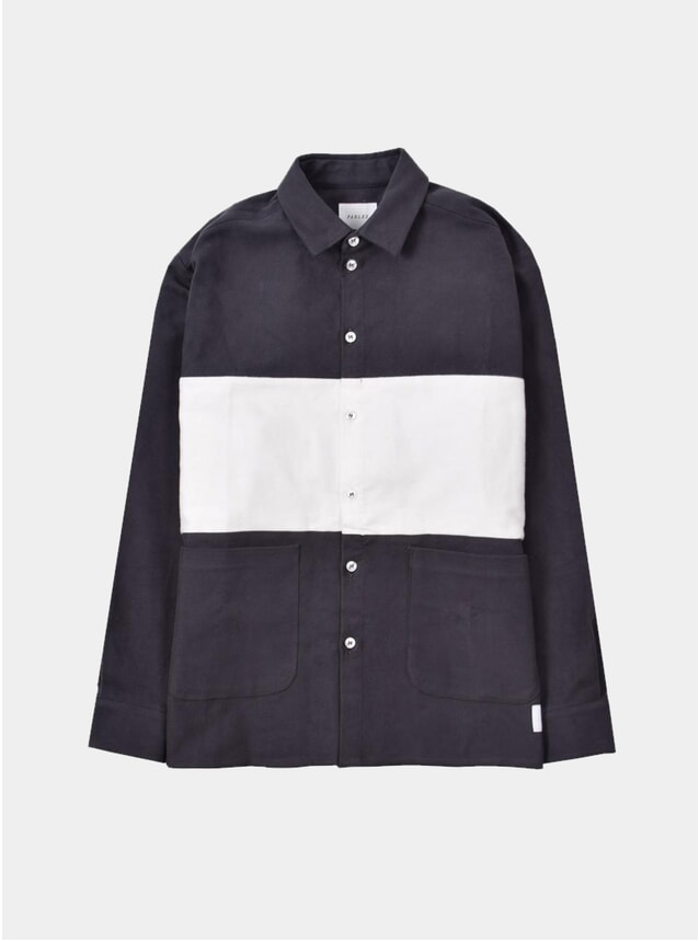 Grey Biscay Stripe Shirt