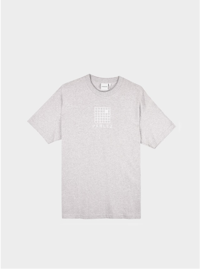 Heather Grey Grid T Shirt