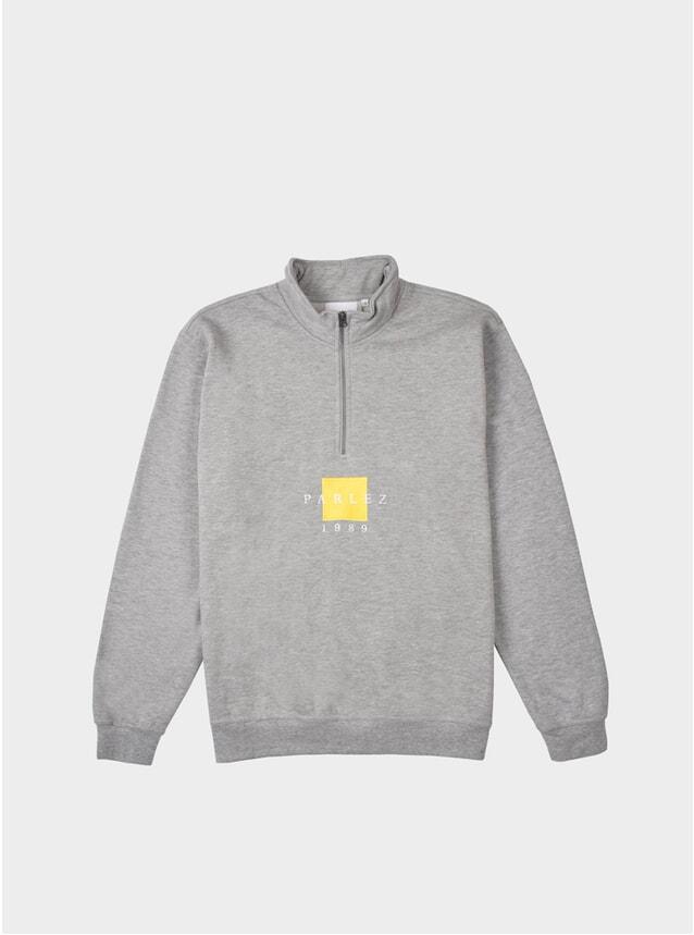 Heather Grey Mavar 1/4 Zip Sweatshirt