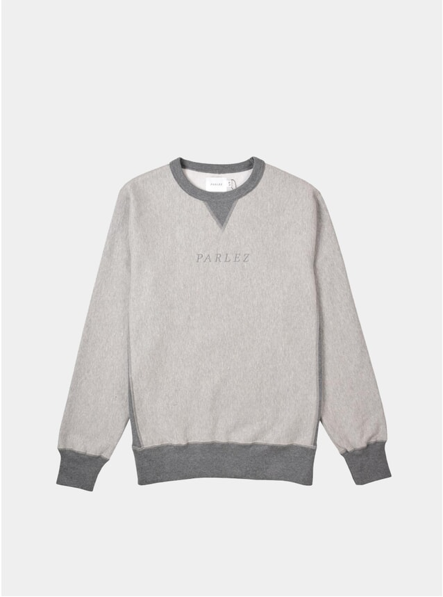 Heather Grey Parlez Tonal Sweatshirt