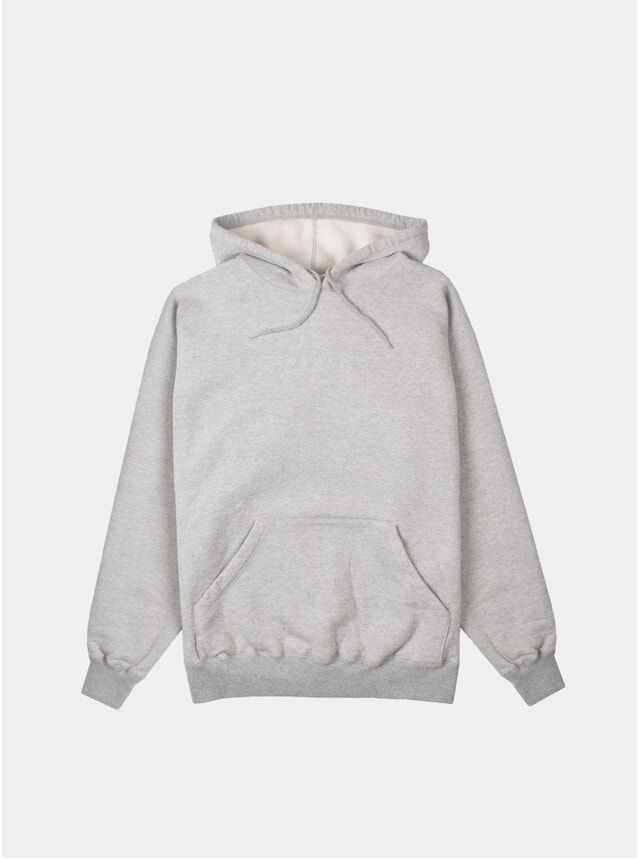 Heather Grey Tonal Hoodie