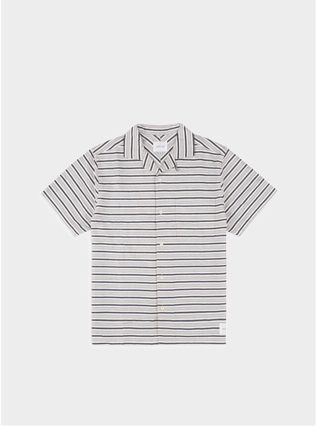 White Stripe Galeas SS Shirt