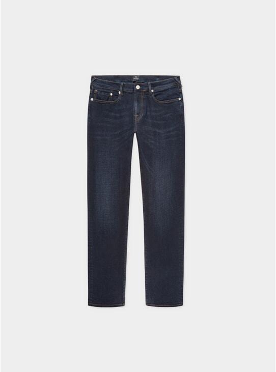 Blue / Black Reflex Tapered Fit Jeans