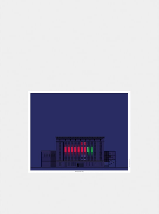 Berghain by Night Print