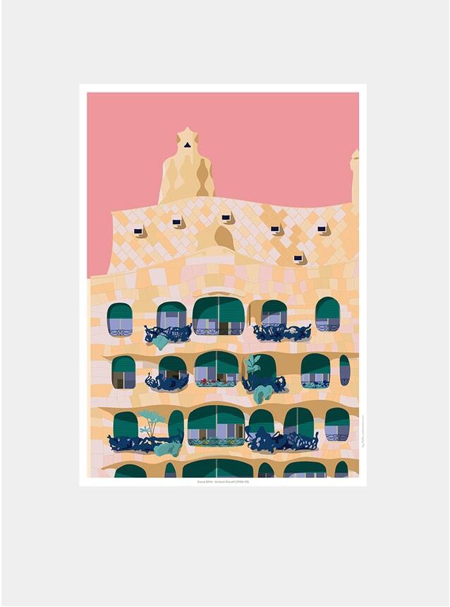 Casa Milá 03 Print