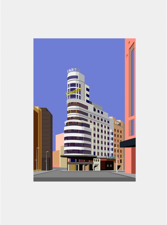 Edificio Carrion Print