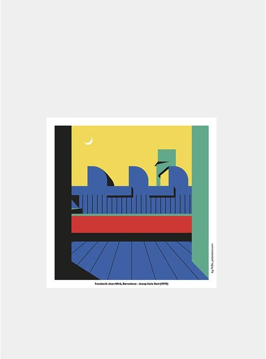 F. Miró 02 Print