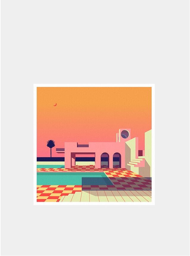 House On The Desert Print