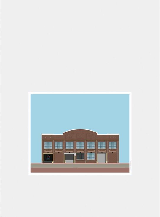 Paradise Garage Print