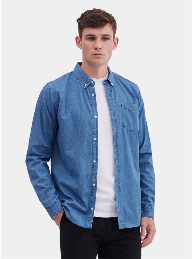 Classic Blue Denim Shirt