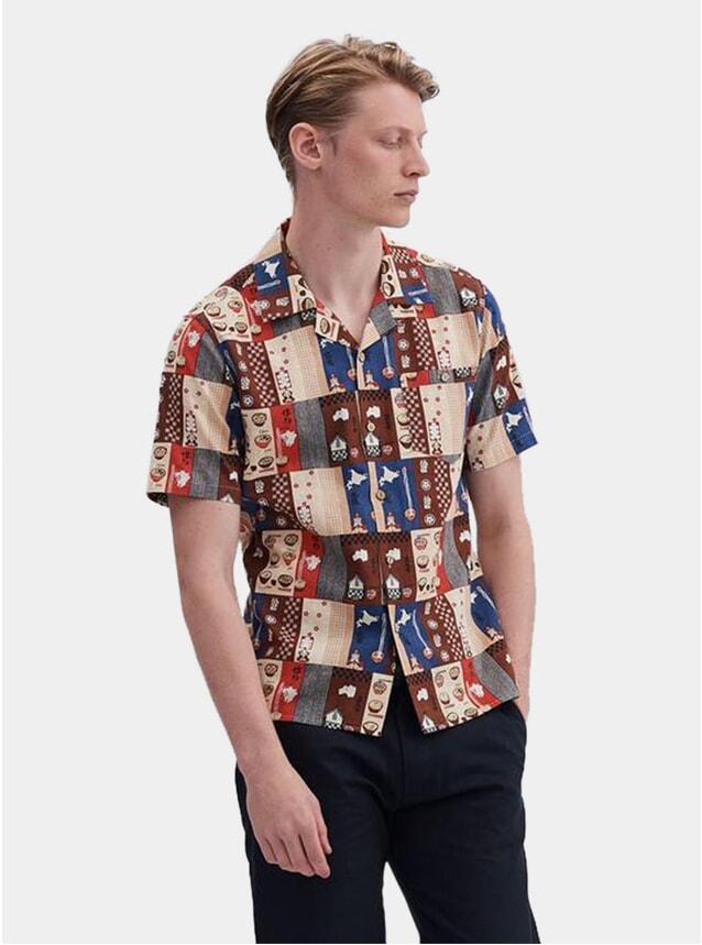 Ramen House SS Cuban Shirt