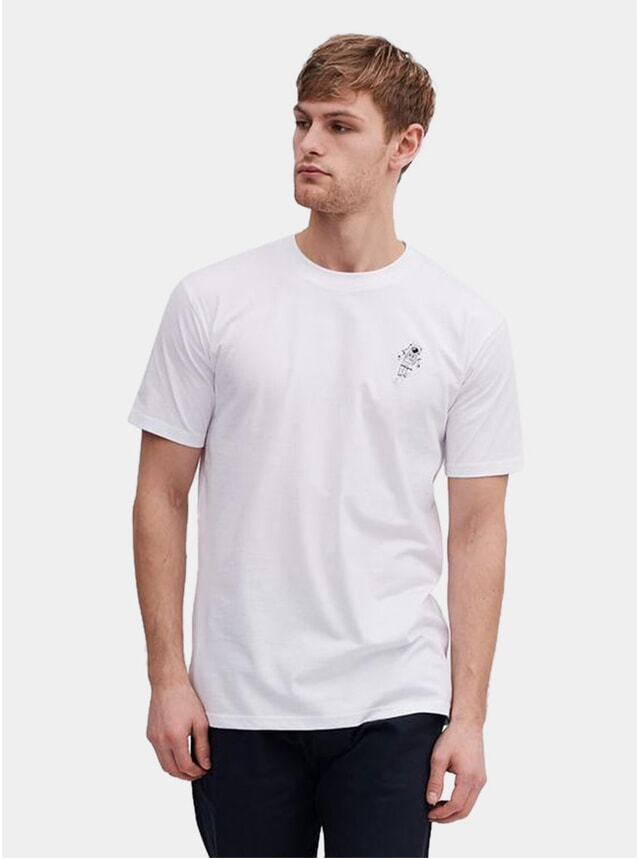 White Spaceman T Shirt